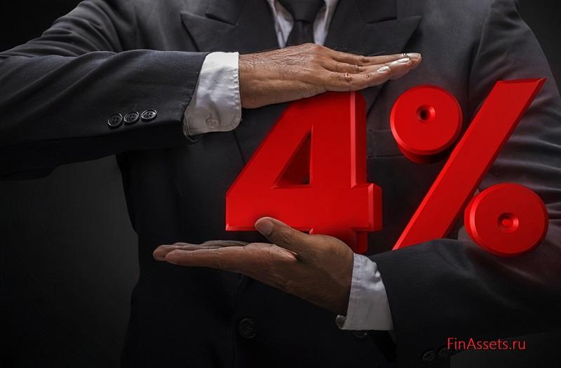 Новые правила 4% в инвестировании